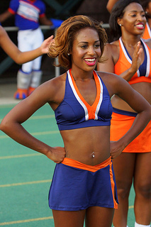 Virginia State Woo Woo's are on point at the 2012 Va Lottery Labor Day Classic