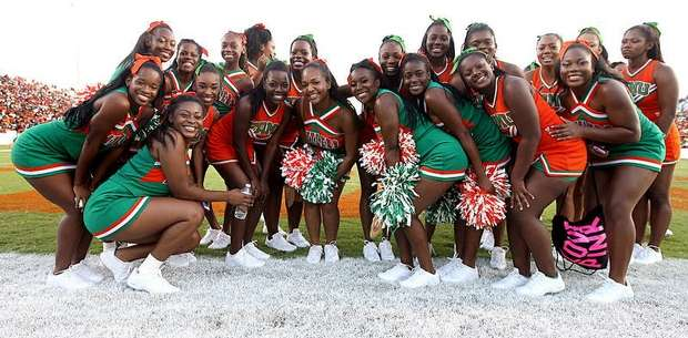 Florida A&M University 2012 Cheerleaders