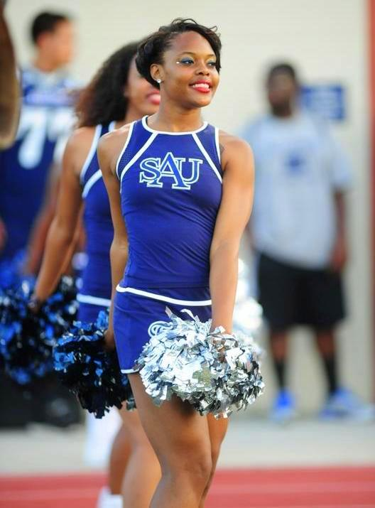 Saint Augustine's University Falcons cheerleaders