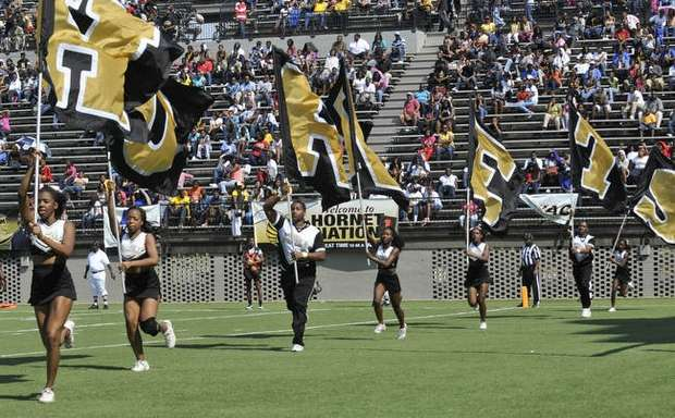 Alabama State University Hornets cheerleaders