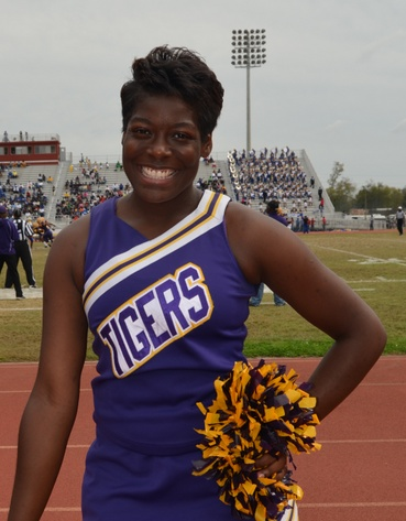 Benedict College cheerleader