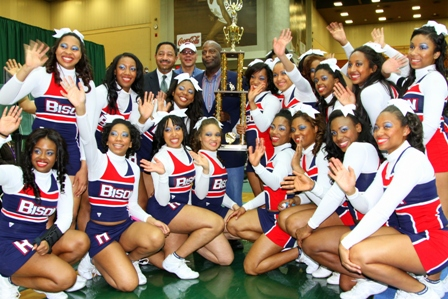 Howard University cheerleaders place 2nd - 2013 MEAC Cheerleading Championship