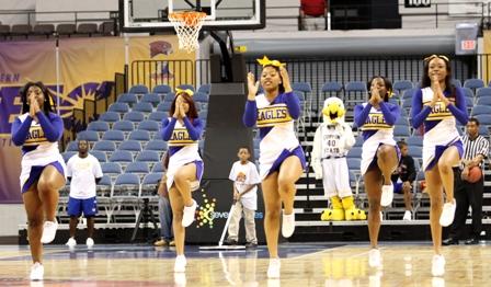 Coppin State University cheerleaders