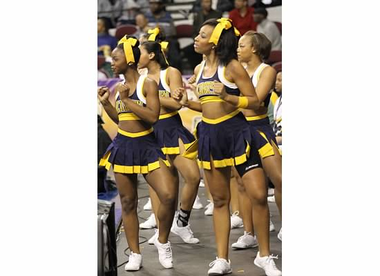 North Carolina A&T Aggie cheerleaders