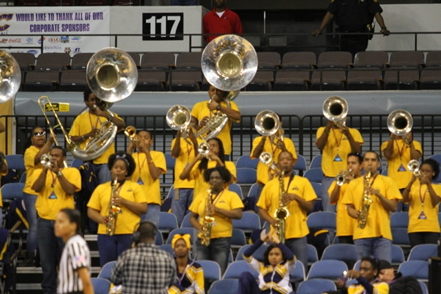North Carolina A&T University pep band