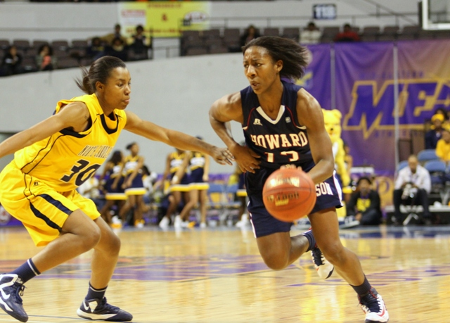 Howard University Lady Bison advances to the MEAC...