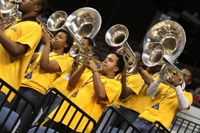 North Carolina A&T State University pep band