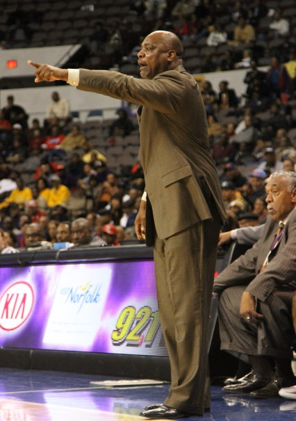 Delaware State head basketball coach calls out to...