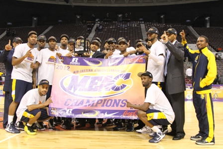 MEAC 2013 Champions are the Aggies of North Carol...
