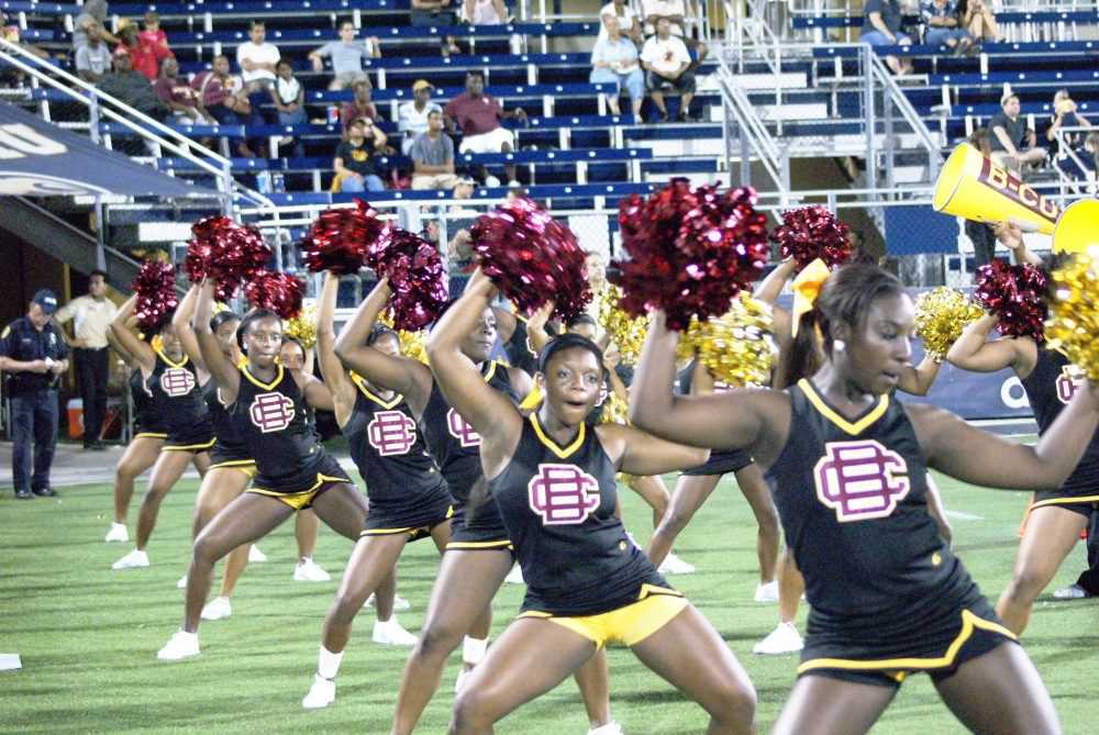 Bethune-Cookman University cheerleaders