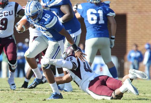 Hampton Pirates defeat North Carolina Central Eag...