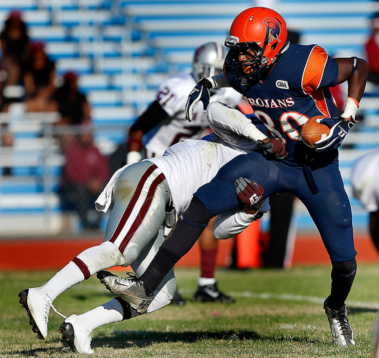 Virginia State Trojas remain perfect in CIAA, bea...