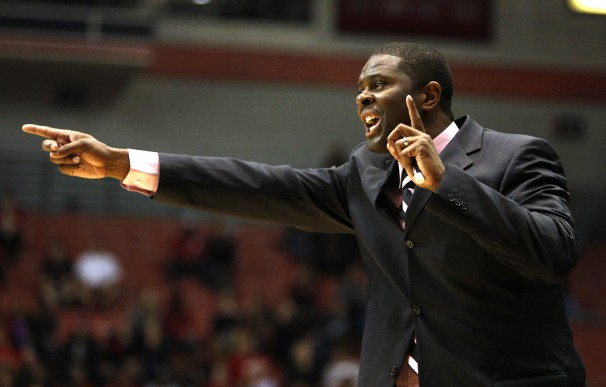 North Carolina Central head coach LeVelle Moton r...