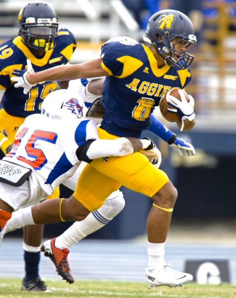North Carolina A&T Aggies stomps Savannah State T...