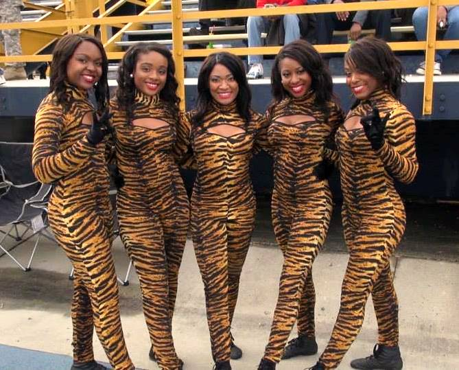 Savannah State University dance team
