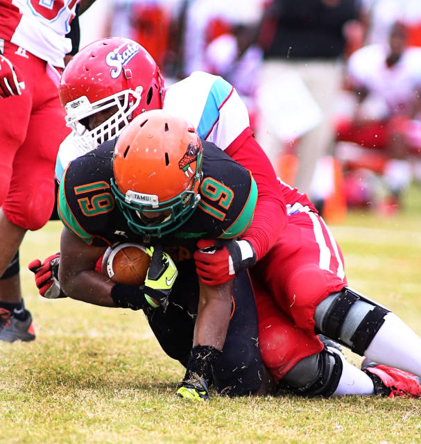 Delaware State Hornets defense holds off Florida ...