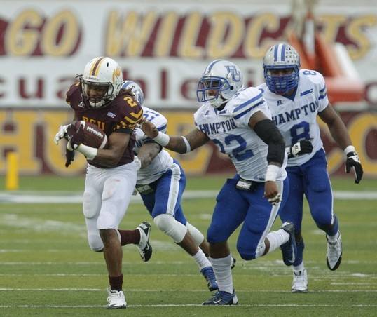Bethune-Cookman Wildcats pound Hampton Pirates