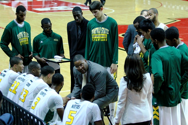 Norfolk State University head basketball coach Ro...