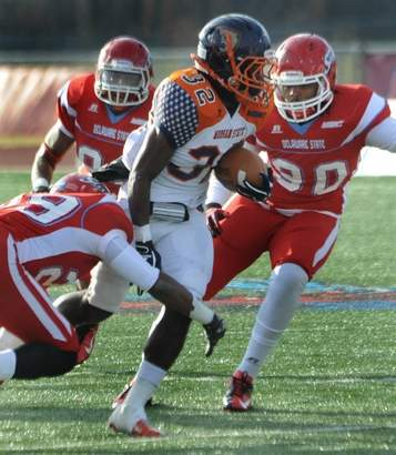 Morgan State defeated Delaware State with less th...