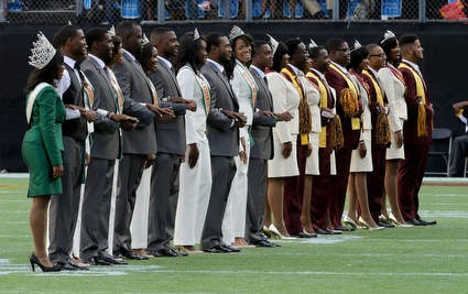 Bethune-Cookman and Florida A&M Homecoming court ...