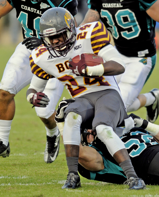 Bethune-Cookman Wildcats fall to Coastal Carolina...