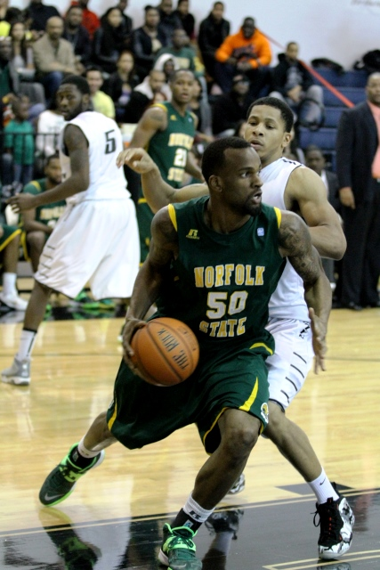 Norfolk State Spartans can't hold on to lead...