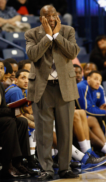 Head coach Ron Mitchell of the Coppin State Eagle...