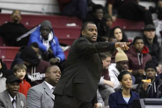 Howard Univesity head basketball coach directs hi...
