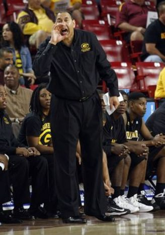 Grambling State Tigers head coach Joseph Price re...