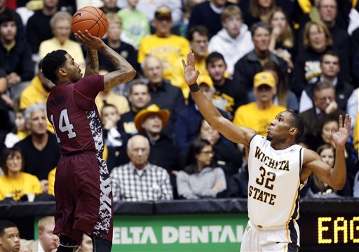 North Carolina Central shoots over Wichita State