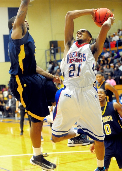 Elizabeth City State Vikings fall to Johnson C Sm...
