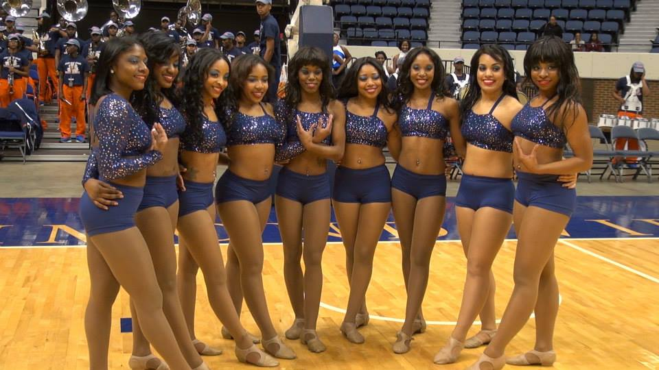 Virginia State University Essence of Troy dancers...