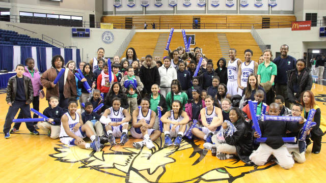 Tennessee State University women�s basketball tea...