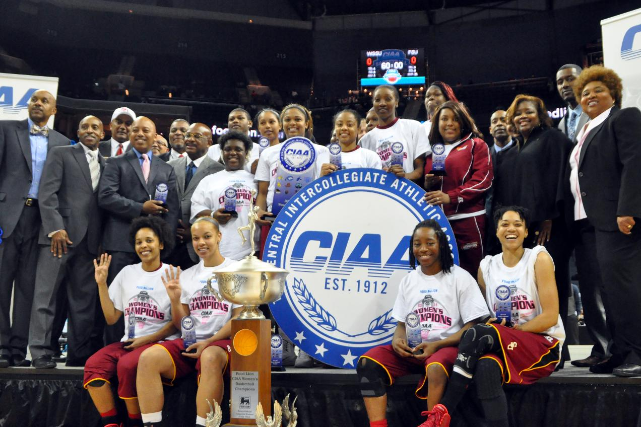 "Shaw University ""Lady Bears"" are the 20..."