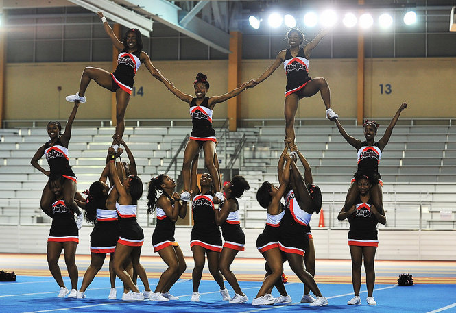 Claflin University competes in the Southern Inter...