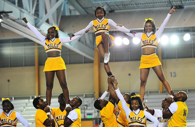 Miles College competes in the Southern Intercolle...