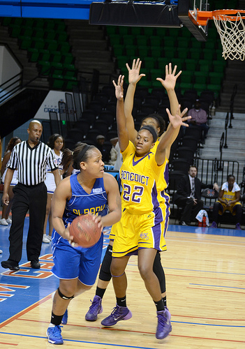 Albany State Lady Rams look to pass the ball agai...