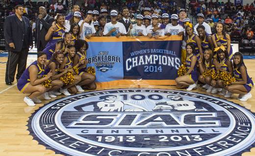 Benedict College Lady Tigers captures the 2014 SI...