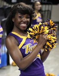 Benedict College Tigers Cheerleader
