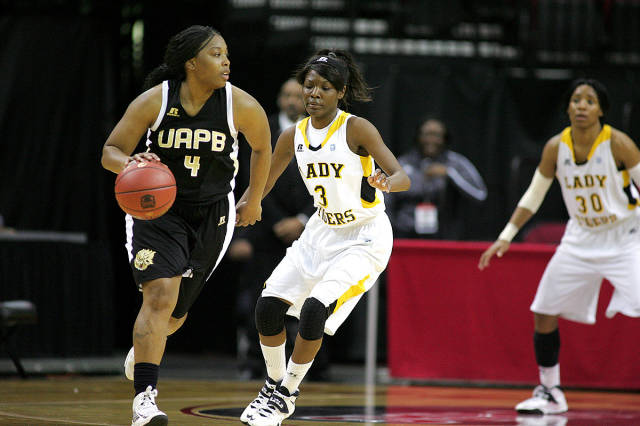 Grambling State Lady Tigers down Arkansas-Pine Bl...