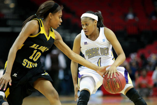 Prairie View A&M Lady Panthers move on to the sem...