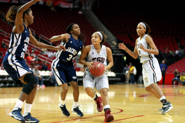 Jackson State Lady Tigers fall short against Texa...