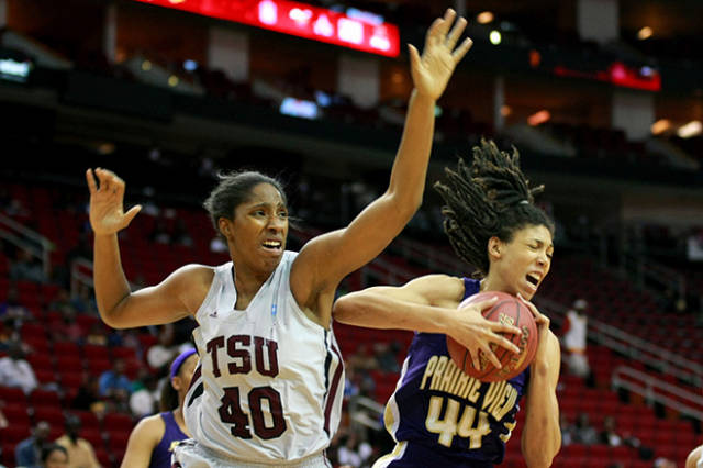 Prairie View A&M Lady Panthers and Texas Southern...