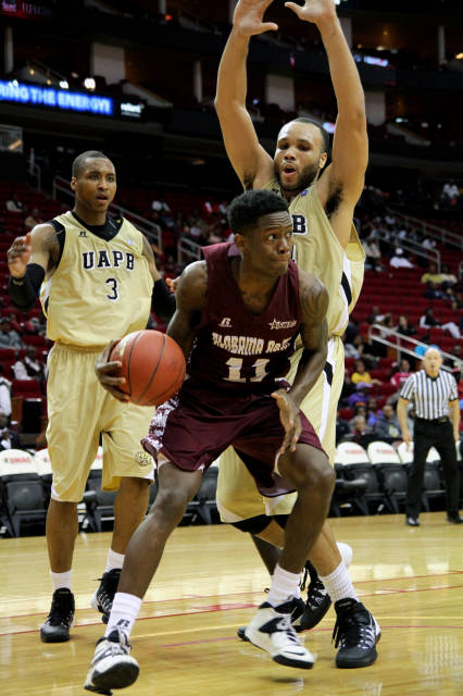 Arkansas-Pine Bluff blocks Alabama A&M from the b...