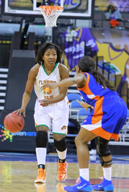 Florida A&M takes on Savannah State in the Women&...