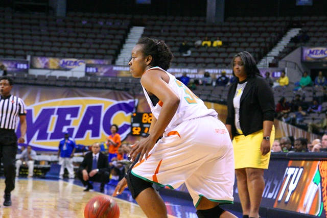 Florida A&M women's head basketball coach Le...
