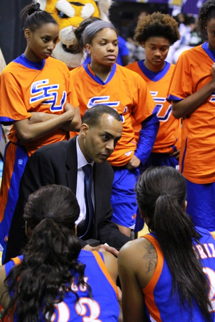 Savannah State women's head basketball coach...