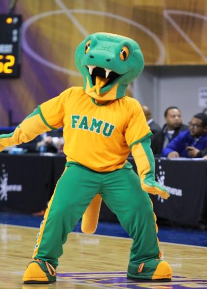 Florida A&M University Rattlers mascot