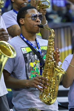 Norfolk State Spartan Legion pep band