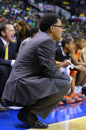 Savannah State University Coach Horace Broadnax l...
